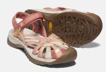 Rose Sandal w Brick dust/multi