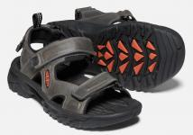 Targee 3 open toe sandal m-grey/black
